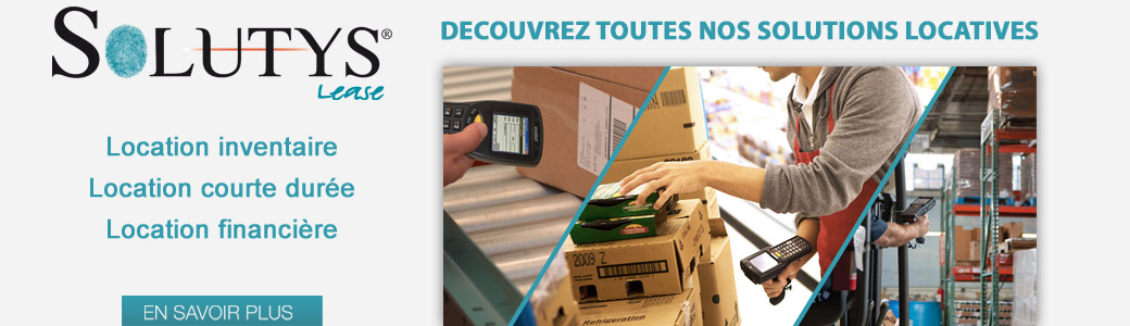 SOLUTYS Lease : solution de location code barres
